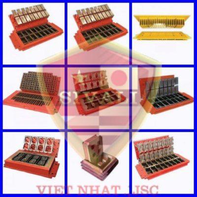 Tổng hợp một số loại khuôn gạch không nung của Việt Nhật