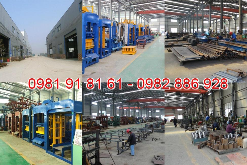 Nhà máy sản xuất máy ép gạch không nung hàng đầu Việt Nam