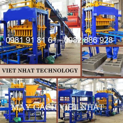 Dây chuyền sản xuất gạch không nung tự động Sivali QT - 6