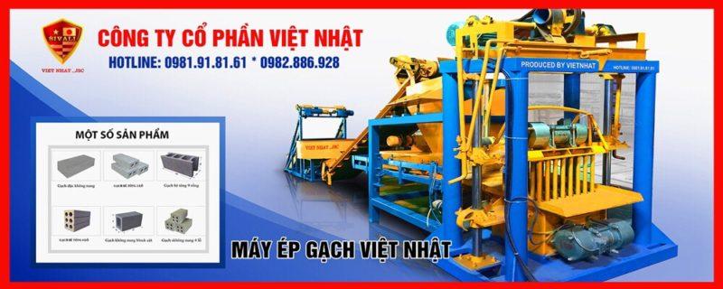 Dây chuyền sản xuất gạch không nung bán tự động tại TPHCM