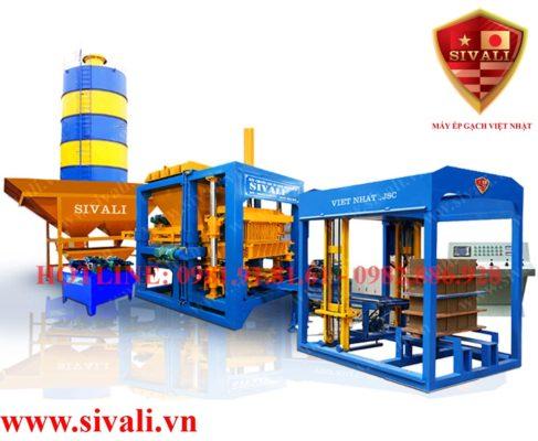 Dây chuyền sản xuất gạch không nung tự động hoàn toàn Sivali QT-10