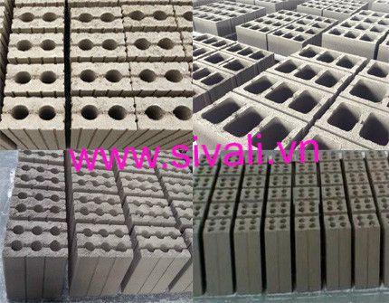 Các sản phẩm gạch làm từ công nghệ sản xuất gạch không nung công ty Việt Nhật