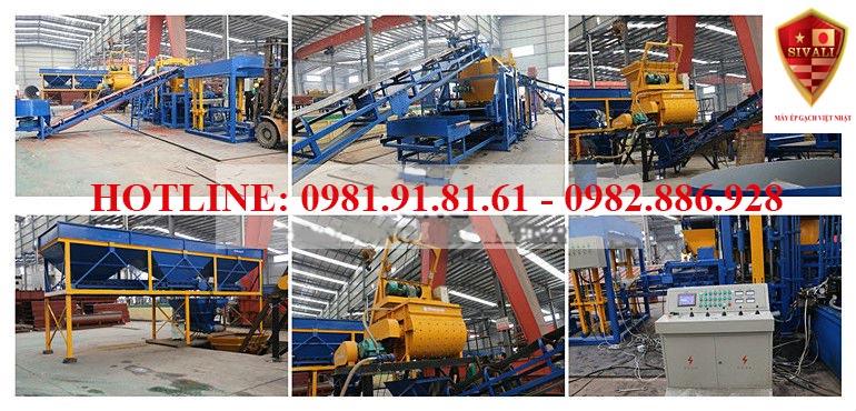 Công nghệ sản xuất gạch block