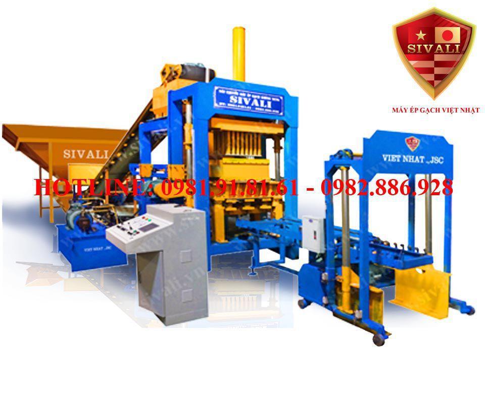 Máy sản xuất gạch không nung tự động thủy lực