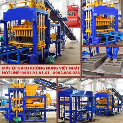 Máy sản xuất gạch không nung tự động