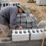 Quy trình xây gạch bê tông không nung đúng phương pháp