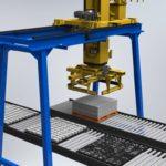 Máy xếp gạch không nung tự động – Máy gắp gạch tự động